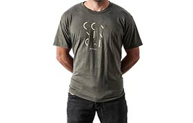 T-SHIRT 3 LINES OLIVE 2018
