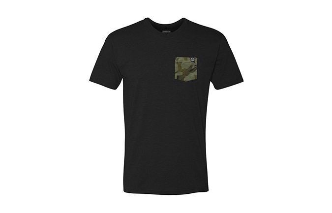 T-SHIRT BASIC BLACK / CAMO 2018