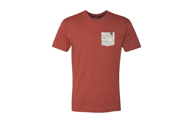 T-SHIRT BASIC RED / GREY 2018