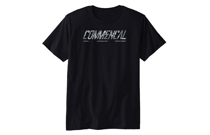 T-SHIRT COMMENCAL CORPORATE BLACK 2019