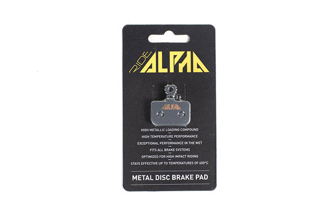 PLAQUETTES METALLIQUES RIDE ALPHA AVID LEVEL DB1/DB3/DB5
