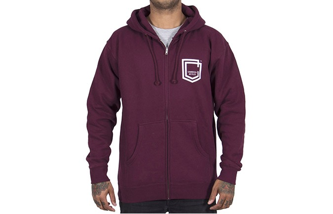 ZIPPER COMMENCAL SHIELD MAROON 2019